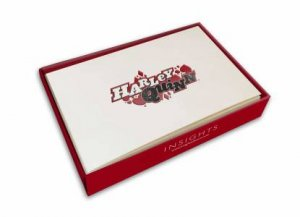 DC Comics: Harley Quinn Embossed Foil Note Cards (Set Of 10) by Various