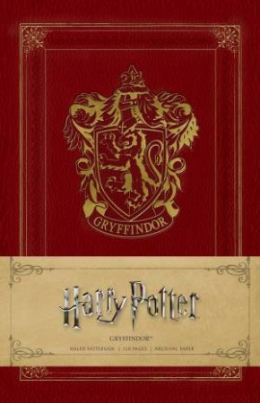 Harry Potter: Gryffindor Ruled Notebook by Various