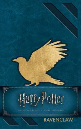 Harry Potter: Ravenclaw Hardcover Ruled Journal by Various