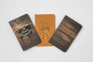Harry Potter: Diagon Alley Pocket Notebook Collection (Set Of 3) by Various