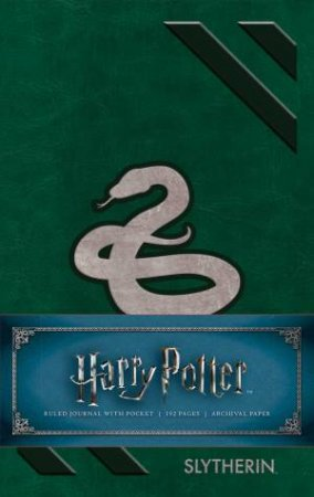Harry Potter: Slytherin Ruled Pocket Journal by Various