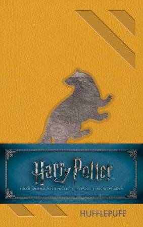 Harry Potter: Hufflepuff Ruled Pocket Journal by Various