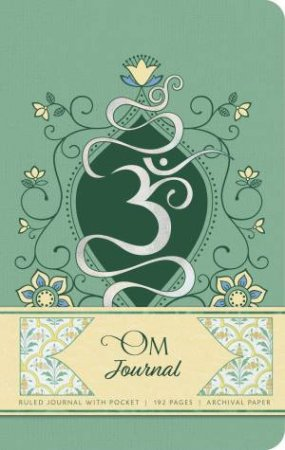 Om Hardcover Ruled Journal by Various