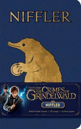 Fantastic Beasts: The Crimes of Grindelwald: Niffler Ruled Pocket Journal by Various