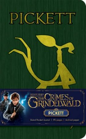 Fantastic Beasts: The Crimes of Grindelwald: Pickett Ruled Pocket Journal by Various