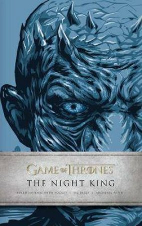 Game Of Thrones: The Night King Hardcover Ruled Journal by Various