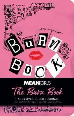 Mean Girls: The Burn Book Hardcover Ruled Journal by Insight Editions