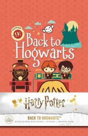 Harry Potter: Back To Hogwarts Hardcover Ruled Journal by Various