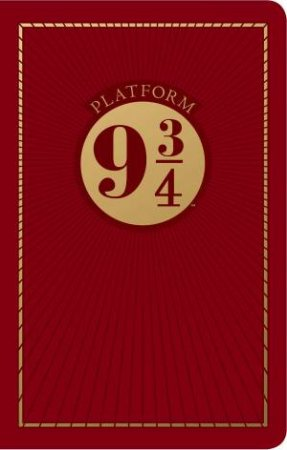 Harry Potter: Platform Nine And Three Quarters Travel Journal by Various