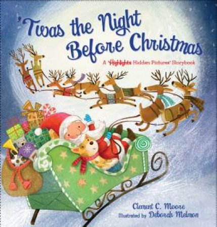A Highlights Hidden Pictures Storybook: 'Twas The Night Before Christmas