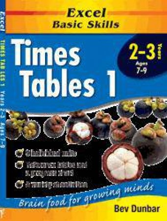Excel Basic Skills: Times Tables 1 - Years 2 - 3