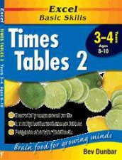 Excel Basic Skills Times Tables 2  Years 3  4