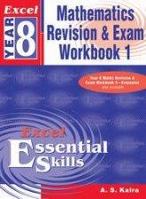 Excel Essential Skills Mathematics Revision  Exam Workbook  Year 8