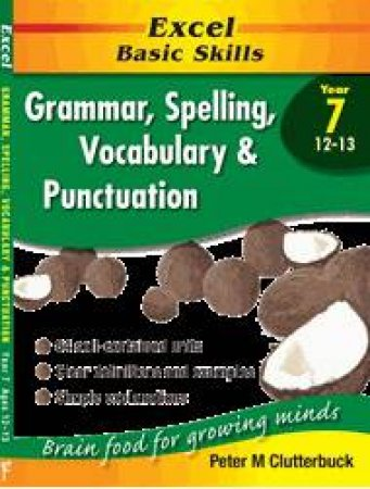 Excel Basic Skills: Grammar, Spelling, Vocabulary & Punctuation - Year 7