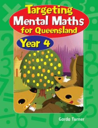 QLD Targeting Mental Maths Year 4 by Garda Turner