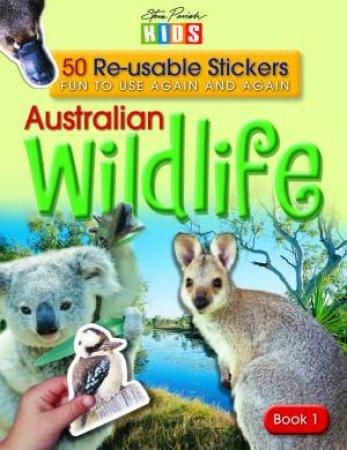 Australian Wildlife Sticker Book 1