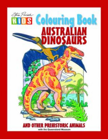 Australian Dinosaur Colouring Book
