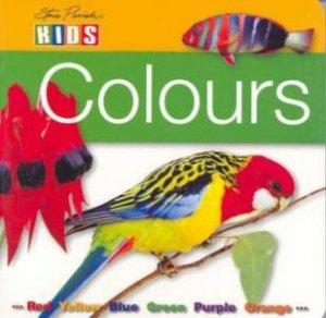 Steve Parish Board Book: Colours