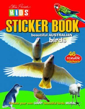 Steve Parish: Birds Sticker Picture Book