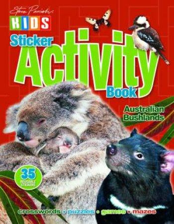 Steve Parish Kids: Bushland Sticker Activity Book