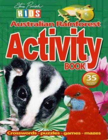Steve Parish Kids: Rainforest Sticker Activity Book