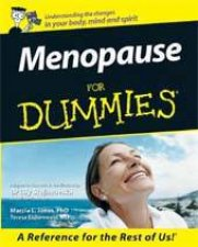 Menopause For Dummies  Australian Edition