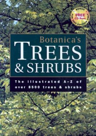 Botanica's Trees & Shrubs - Book & CD-ROM by Various