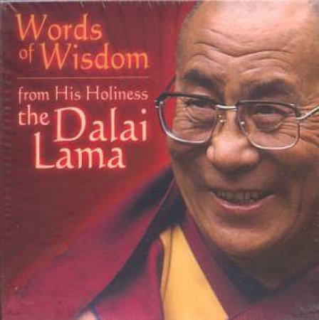 Words Of Wisdom From His Holiness The Dalai Lama - Cards