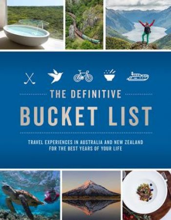 The Definitive Bucket List by Lee Atkinson