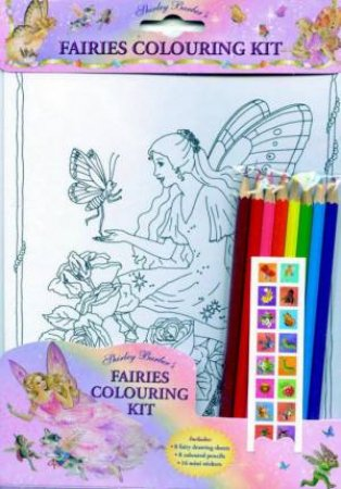 Fairies Colouring Kit by Shirley Barber