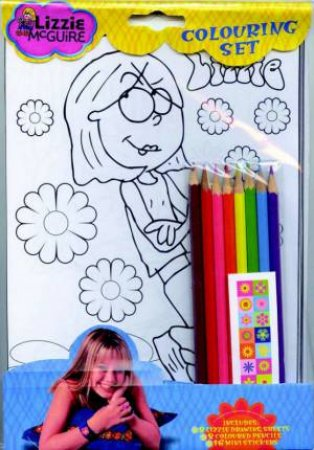 Lizzie McGuire: Colouring Kit by Unknown