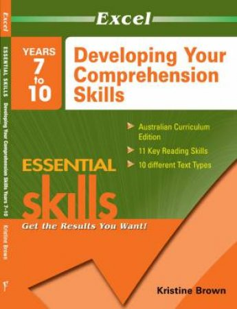 Excel Basic Skills: Developing Your Comprehension Skills: Years 7-10