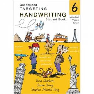 QLD Targeting Handwriting Student Book - Year 6