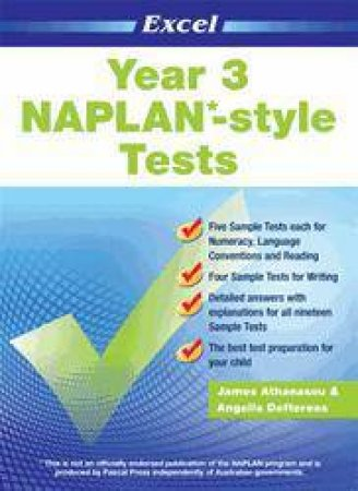 NAPLAN* Style Tests Year 3
