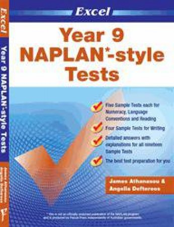NAPLAN* style Tests Year 9