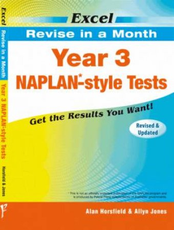 Excel Revise in a Month - Year 3 NAPLAN*- Style Tests