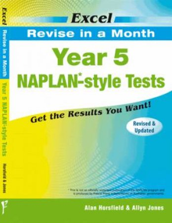 Excel Revise in a Month - Year 5 NAPLAN*- Style Tests