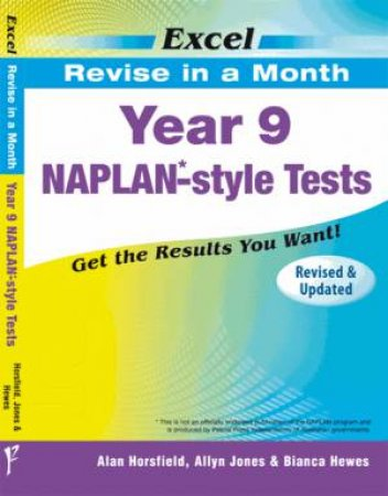 Excel Revise in a Month - Year 9 NAPLAN*- Style Tests