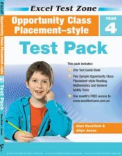 Excel Test Zone Opportunity Class Placement Year 4 Test Pack