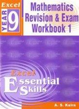 Excel Essential Skills Advanced Mathematics Revision  Exam Workbook  Year 9