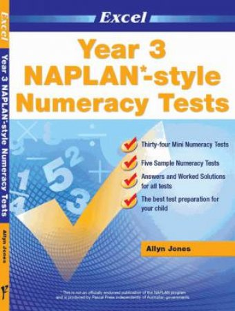 NAPLAN* Style Numeracy Tests Year 3