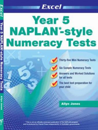 NAPLAN* Style Numeracy Tests Year 5
