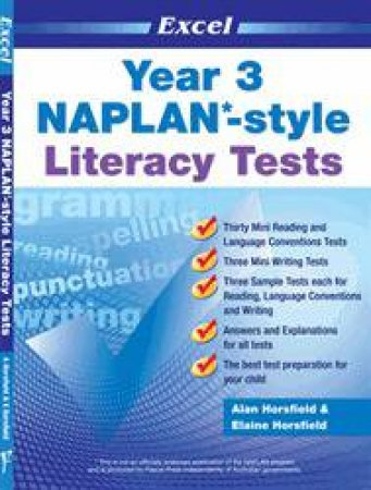 NAPLAN* Style Literacy Tests Year 3