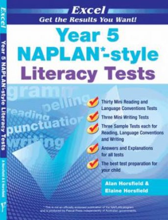 NAPLAN* Style Literacy Tests Year 5