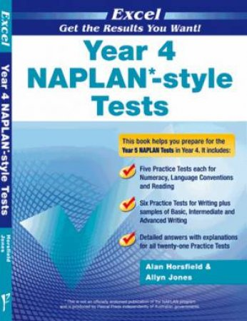 NAPLAN* style Tests Year 4