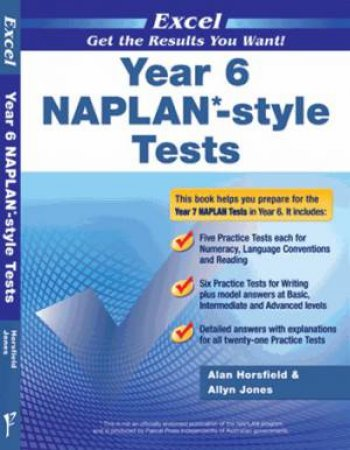 NAPLAN* Style Tests Year 6