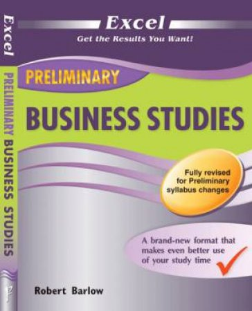 Excel Preliminary - Business Studies