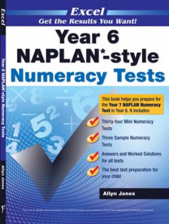 NAPLAN* Style Numeracy Tests Year 6