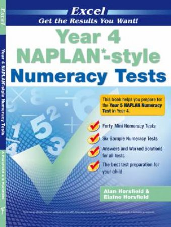 NAPLAN* Style Numeracy Tests Year 4