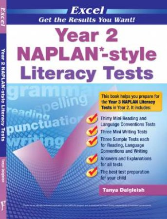 Excel: Year 2 NAPLAN-style Literacy Tests